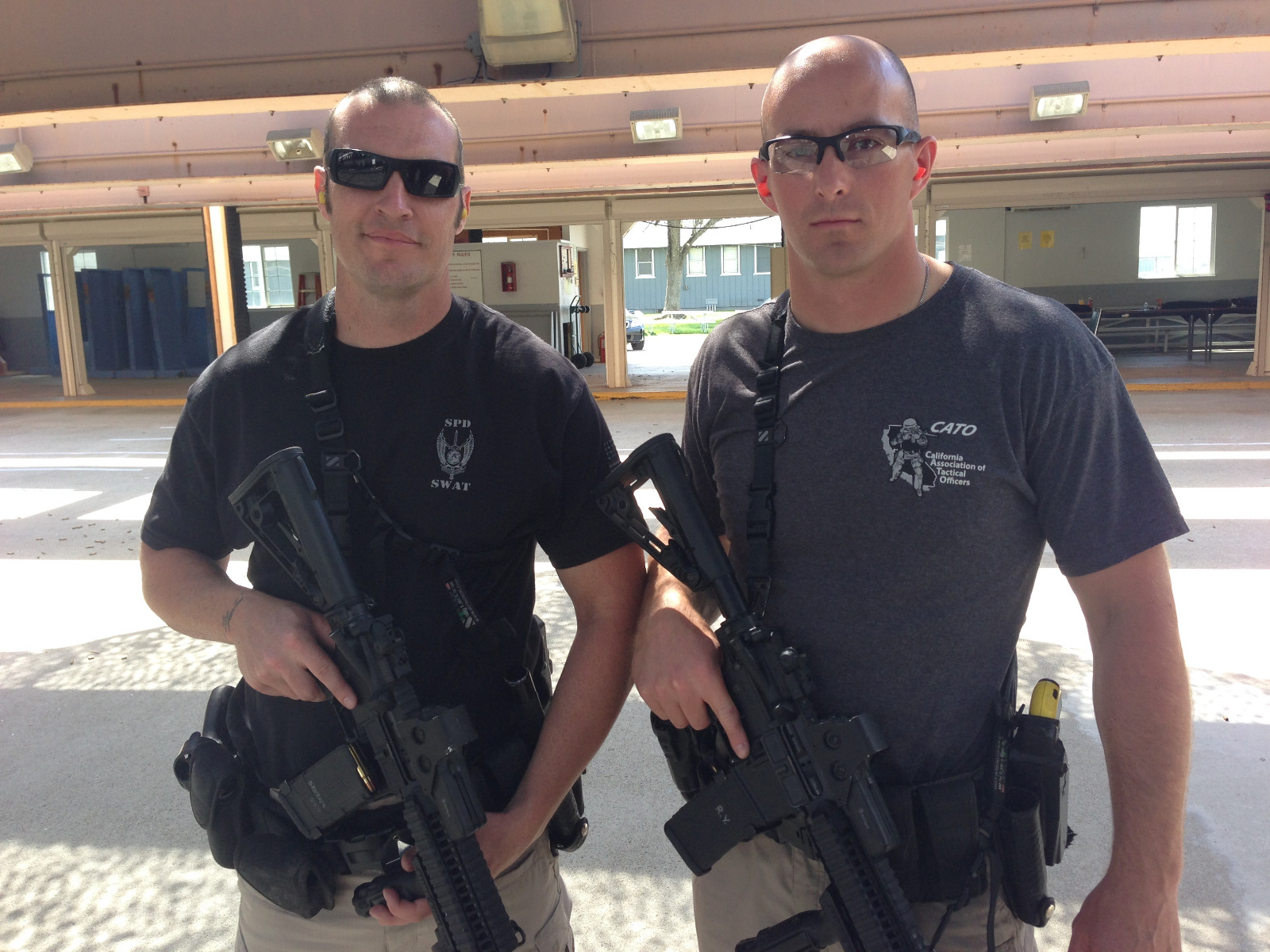 PD SWAT team with QCS